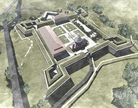 PROJECT Zolochiv Castle area