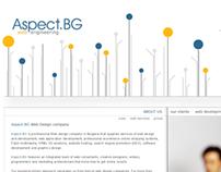 Aspect.bg - Design proposal.