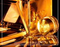 """""""BOLD GOLD""""  FLACON mag"""