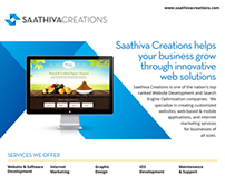 Saathiva Creations Flyer