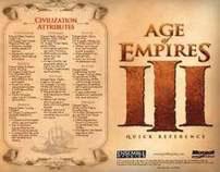 Age of Empires III Quick Reference