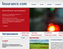 Insurance company - Design proposal.