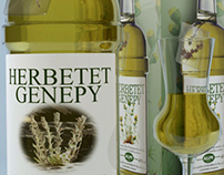 Genepy liqueur