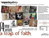 A Leap of Faith: 14 New Artists