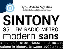 Sintony - Free Google Web Font
