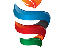 "Olympic Logo concept: Baku 2015 ""Olympic Torch"""