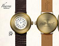 Ibarra Heritage Sucesos Wristwatch Artistic Render