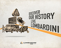 Art direction | Visual pagina facebook Lombardini group