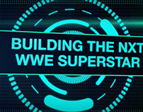 Building the NXT WWE Superstar open