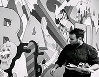 The Great Grafik Adventure Mural