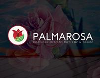 Palmarosa -branding logo