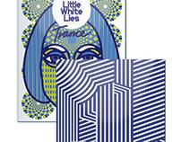 "Little White Lies ""Trance"" Lettering"