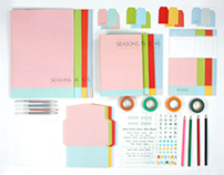 SEASONS : Sensitive Stationery Brand