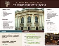 Sofia University Redesign Suggestion