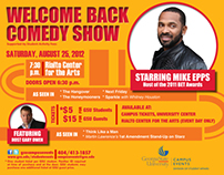 GSU's Welcome Back Comedy Show