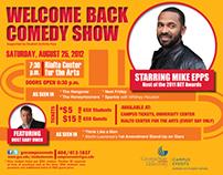 GSU's Welcome Back Comedy Show