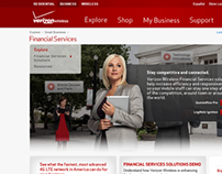 Verizon Wireless Website—Financial Services