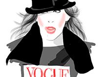 Sarah Jessica Parker Illustrations
