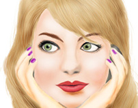 Emma Stone (Digital Painting)