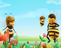 WOODS' Bee Animation (TVC & LED)