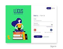 Dashboard - Locus Assignments