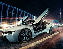 BMW I8 Photo shoot