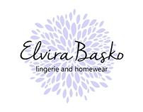 Elvira Basko lingerie and homewear - identity (2016)