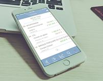 Banking app redesign