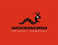 Woodworm Cricket Company – Branding
