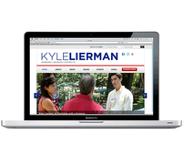 Kyle Lierman Campaign Website Redesign