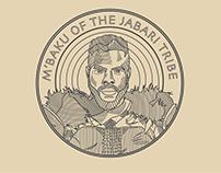 M'Baku Badge Design