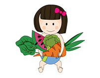Organic Baby food character development