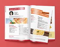 Graphisme éditorial – brochure Maredsous