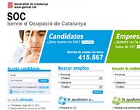 SOC. Servei d'Ocupació de Catalunya.