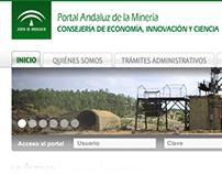 Portal Andaluz de la Minería. Junta de Andalucía.