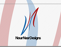 Nour Nasr Designs Official Logo Branding 2013