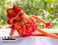 Monsterito | Flame (4elements collection)