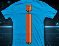 Tron - Master Control Tie Shirt