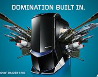 LENOVO Erazer Campaign