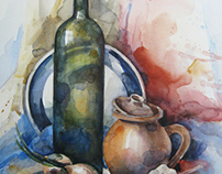 Still-Life in Watercolor