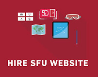 Redesigning Hire SFU Website
