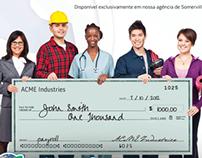 BrazTransfers Check Cashing Campaign