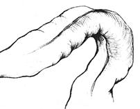 Editorial Illustration, Line Art