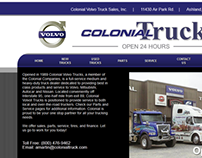 Colonia Trucks Website REDESIGN