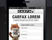 CARFAX Mobile App for Dealers / VIN Scanner