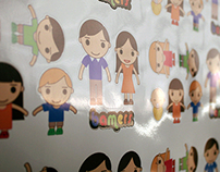 Family Stickers Bamers