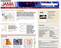 JAMA/Journal of American Medical Assn Site Redesign