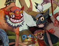 BRAVE NEW WORLD Illustrations