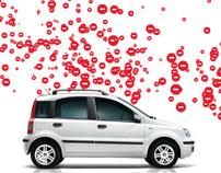Fiat Panda banner campaign 2010
