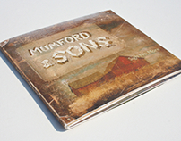 Mumford & Sons CD Design